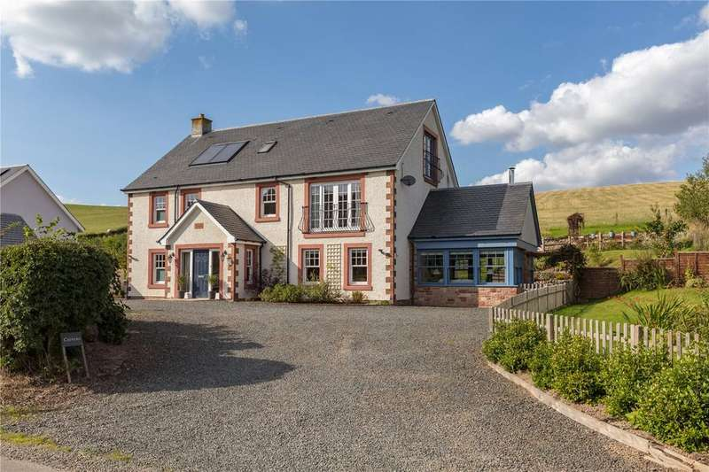 5 Bedrooms Detached House for sale in Crivens, Mountmill, Oxton, Lauder, Scottish Borders