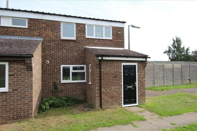 3 Bedrooms End Of Terrace House for sale in Stratton Way , Biggleswade, SG18