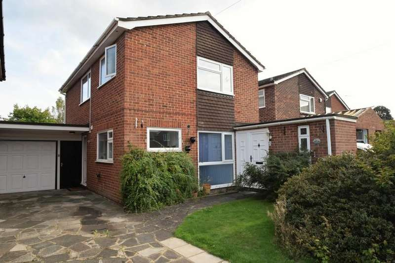 3 Bedrooms Link Detached House for sale in Heathwood Close, Yateley