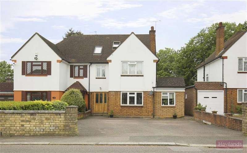 4 Bedrooms Semi Detached House for sale in Bush Hill, Winchmore Hill, London