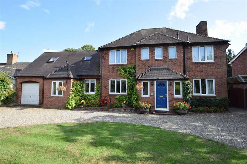 5 Bedrooms Detached House for sale in 10 Mayfield Drive, Shrewsbury SY2 6PB
