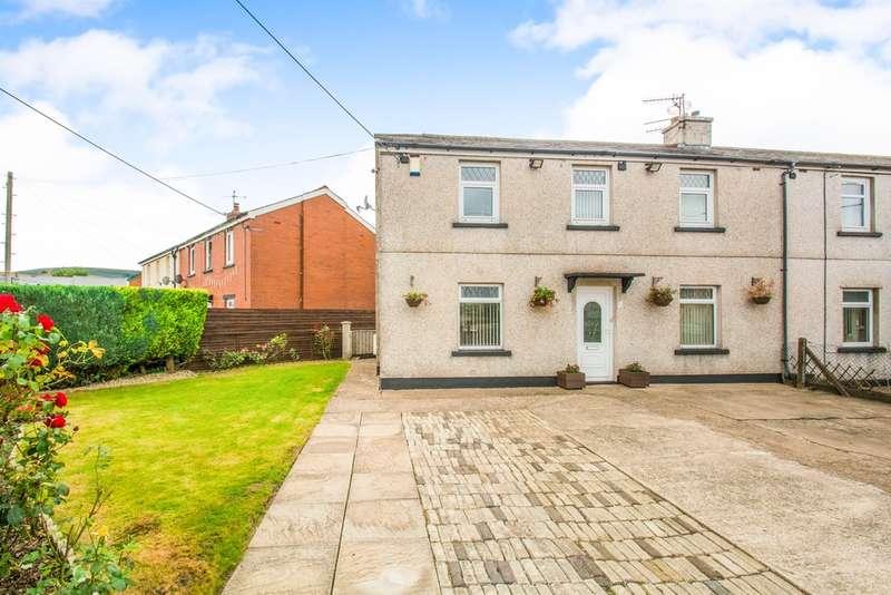 3 Bedrooms Semi Detached House for sale in Brynwern, Pontypool