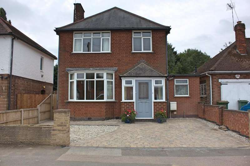 3 Bedrooms Detached House for sale in Grange Drive, Glen Parva, Leicester