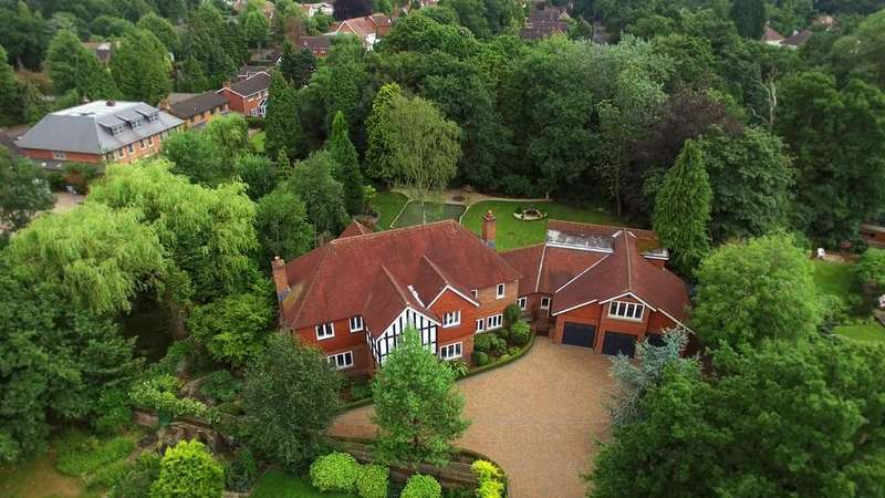 5 Bedrooms Detached House for sale in Brook House, Alderbrook Road, Solihull
