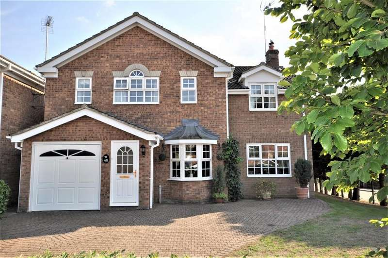 5 Bedrooms Detached House for sale in Valley Crescent, West Bergholt, CO6 3ED