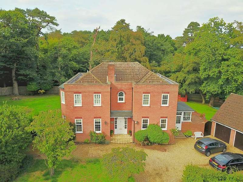 5 Bedrooms Detached House for sale in Fernhill Close, Woodbridge, IP12 1LB