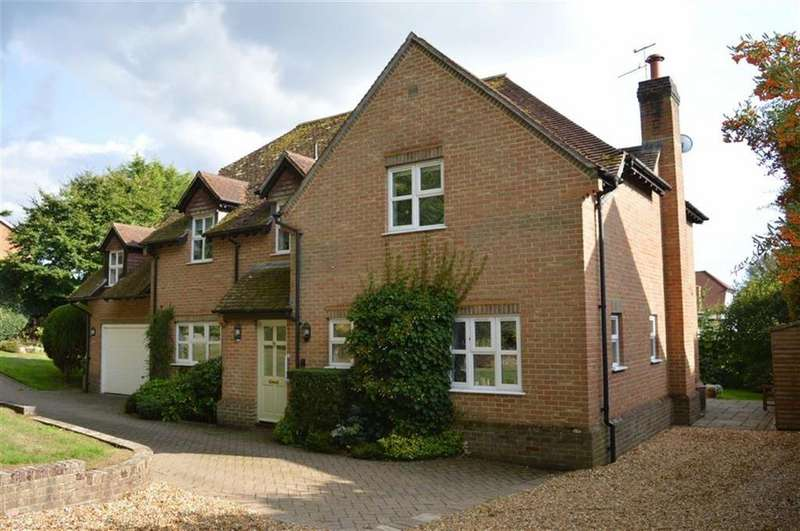 4 Bedrooms Detached House for sale in Cuthburga Road, Wimborne, Dorset