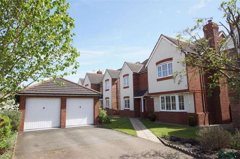 4 Bedrooms Detached House for sale in Miranda Drive, Warwick Gates, Warwick