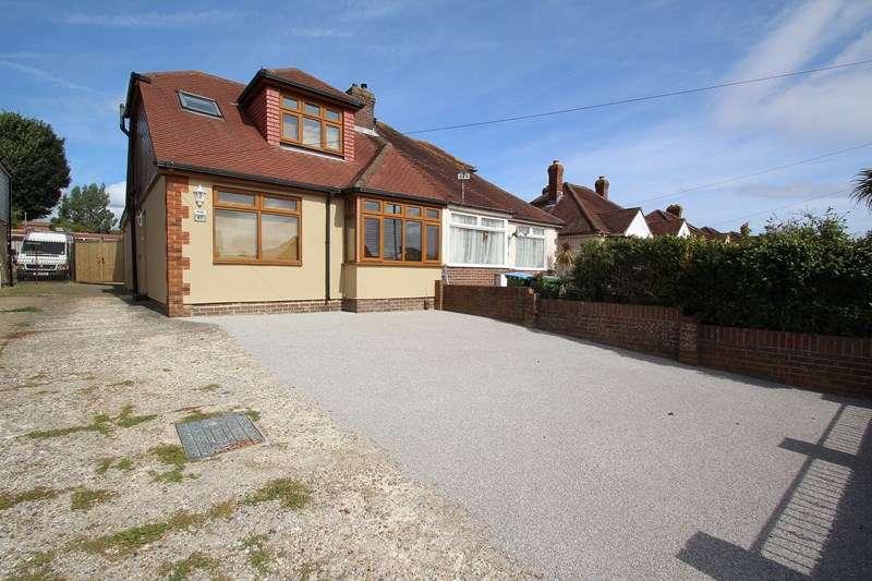 3 Bedrooms Semi Detached Bungalow for sale in The Crossway, Fareham