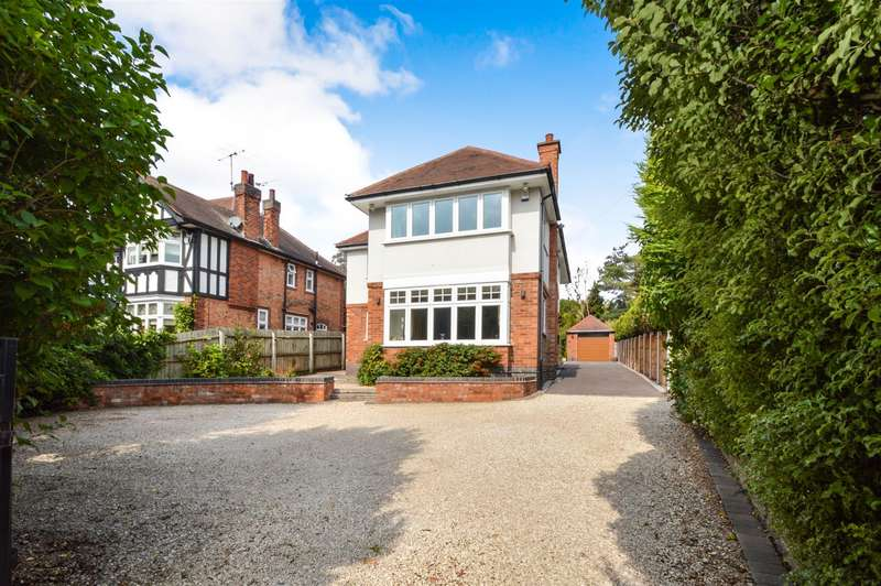 4 Bedrooms Detached House for sale in Chaveney Road, Quorn, Loughborough