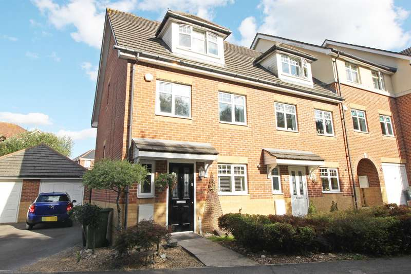 3 Bedrooms End Of Terrace House for sale in Eden Road, West End, Southampton, SO18 3QX