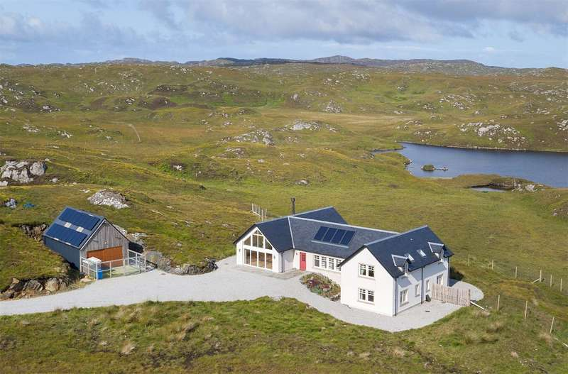 5 Bedrooms Detached House for sale in Fearna Lodge Estate, Lochinver, Sutherland, IV27