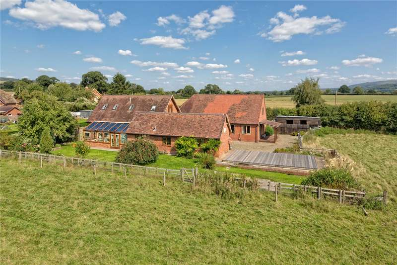 5 Bedrooms Barn Conversion Character Property for sale in Home Farm Barn, Diddlebury, Craven Arms, Shropshire, SY7