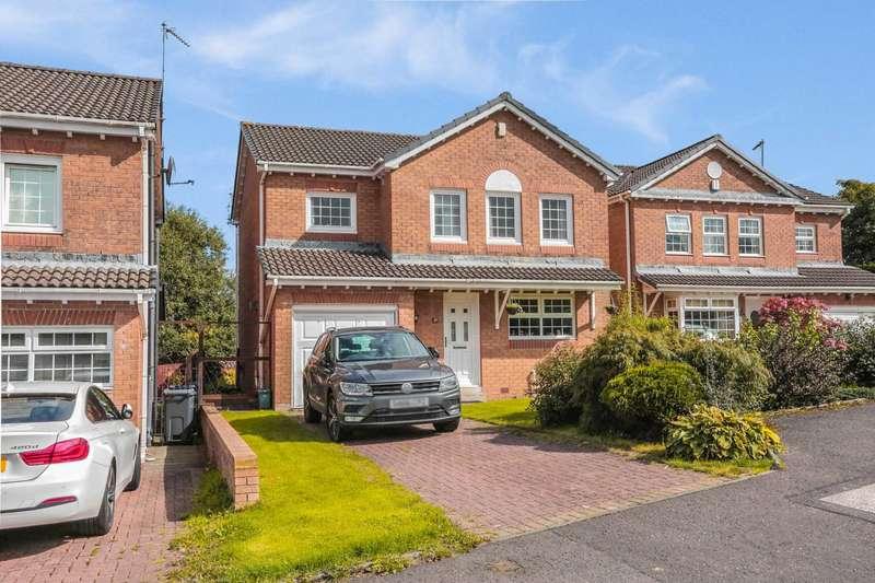 4 Bedrooms Detached House for sale in Woodlands Crescent, Johnstone