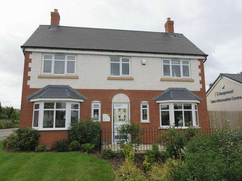 4 Bedrooms Detached House for sale in Plot 64, The Bradgate, Cave Crescent, Coalville