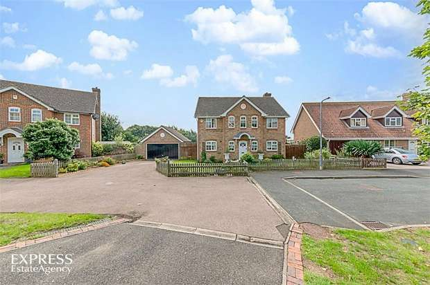 5 Bedrooms Detached House for sale in The Lords, Seaford, East Sussex