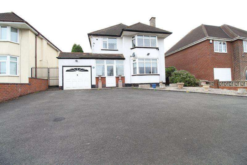 3 Bedrooms Detached House for sale in Chester Road, Brownhills