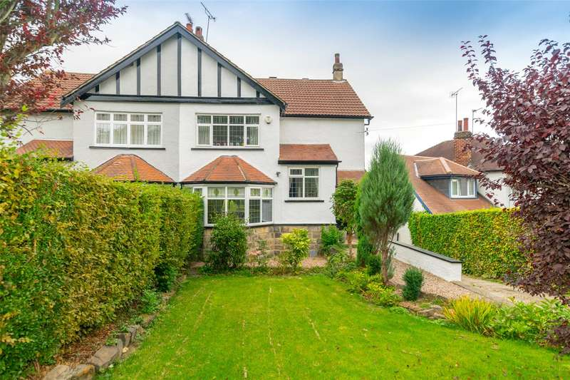 4 Bedrooms Semi Detached House for sale in Weetwood Avenue, Leeds, West Yorkshire, LS16