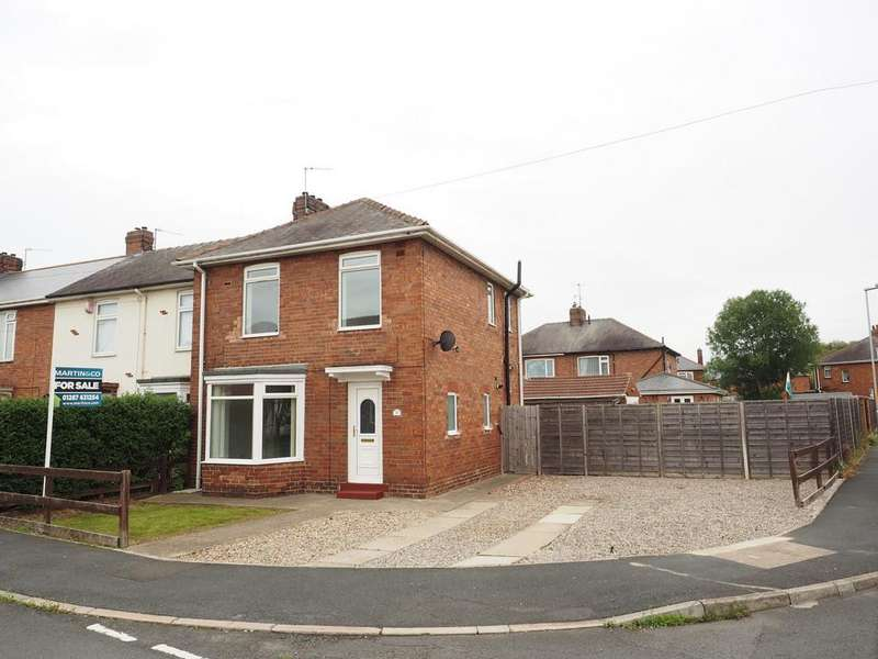 3 Bedrooms End Of Terrace House for sale in Devon Crescent, Billingham