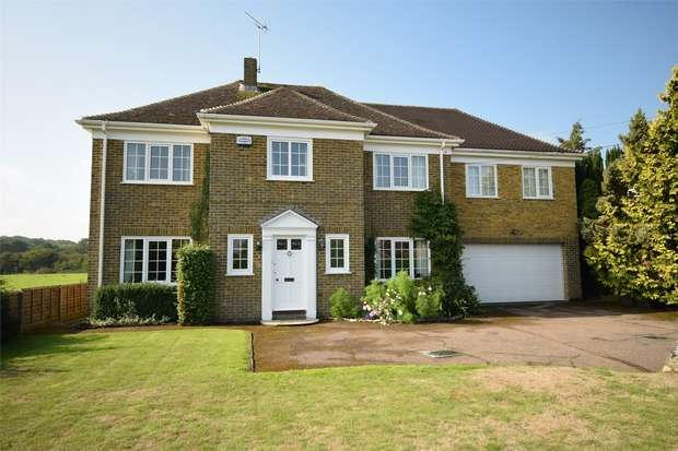 5 Bedrooms Detached House for sale in Orchard House, Teston Road, Offham, West Malling, Kent