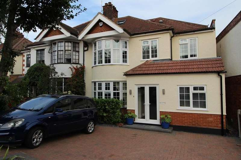 6 Bedrooms Semi Detached House for sale in Eversleigh Gardens, Upminster, Essex, RM14