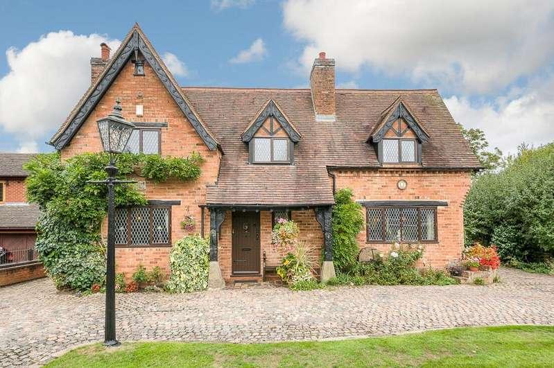 4 Bedrooms Detached House for sale in Hinckley Road, Burton Hastings