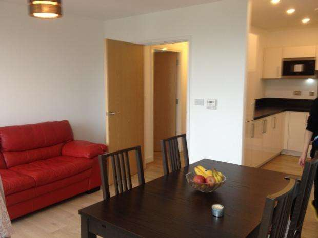 2 Bedrooms Apartment Flat for sale in Parkside Court 15 Booth Road, Newnham, E16