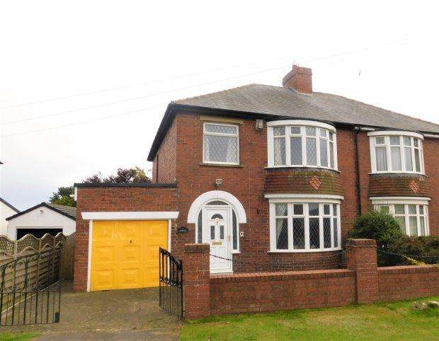 3 Bedrooms Semi Detached House for sale in FRONT STREET SOUTH, TRIMDON VILLAGE, SEDGEFIELD DISTRICT