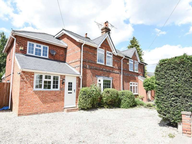 3 Bedrooms Semi Detached House for sale in Church Lane, Three Mile Cross, Reading, RG7
