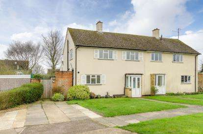 3 Bedrooms Semi Detached House for sale in Lanchester Close, Clapham, Bedford, Bedfordshire