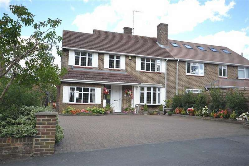 4 Bedrooms Semi Detached House for sale in Furzehill Road, Borehamwood, Hertfordshire