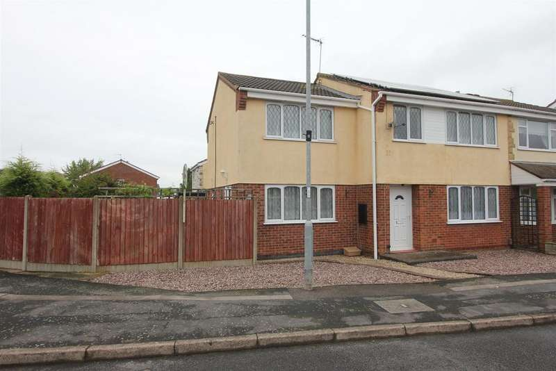 4 Bedrooms Semi Detached House for sale in Galloway Close, Barwell