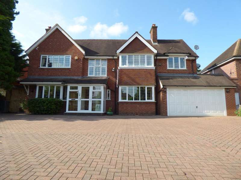 5 Bedrooms Detached House for sale in Croftdown Road, Harborne, Birmingham, B17 8RE