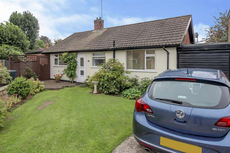 2 Bedrooms Detached Bungalow for sale in Sapele Close, Gedling, Nottingham