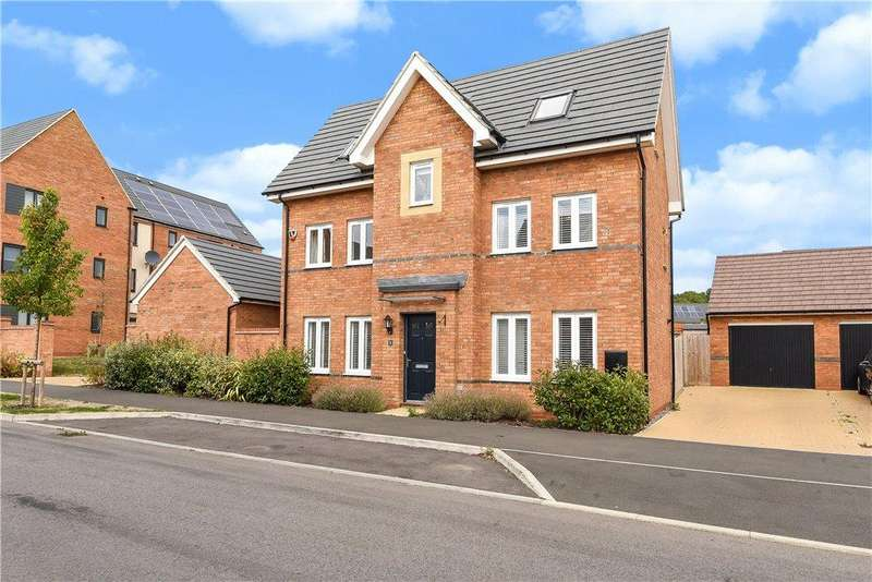 4 Bedrooms Detached House for sale in Tiberius Drive, Fairfields, Milton Keynes, Buckinghamshire