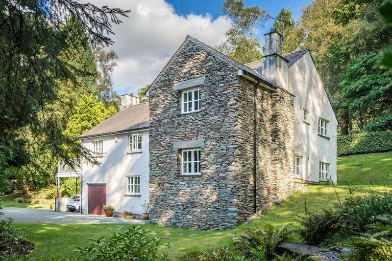4 Bedrooms Detached House for sale in Ellerside, Ellerigg Road, Ambleside, Cumbria LA22 9EU