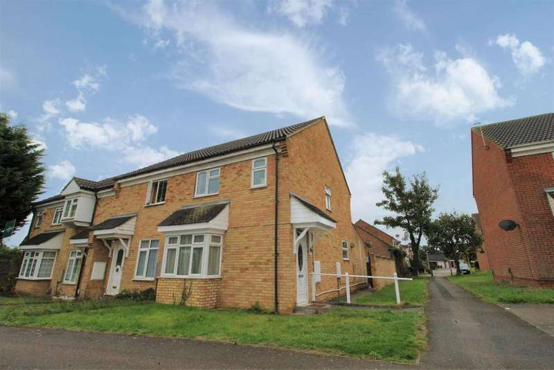 3 Bedrooms End Of Terrace House for sale in Beatrice Street, Kempston, MK42