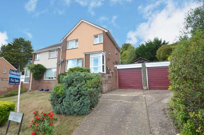 3 Bedrooms Semi Detached House for sale in Exwick, Exeter