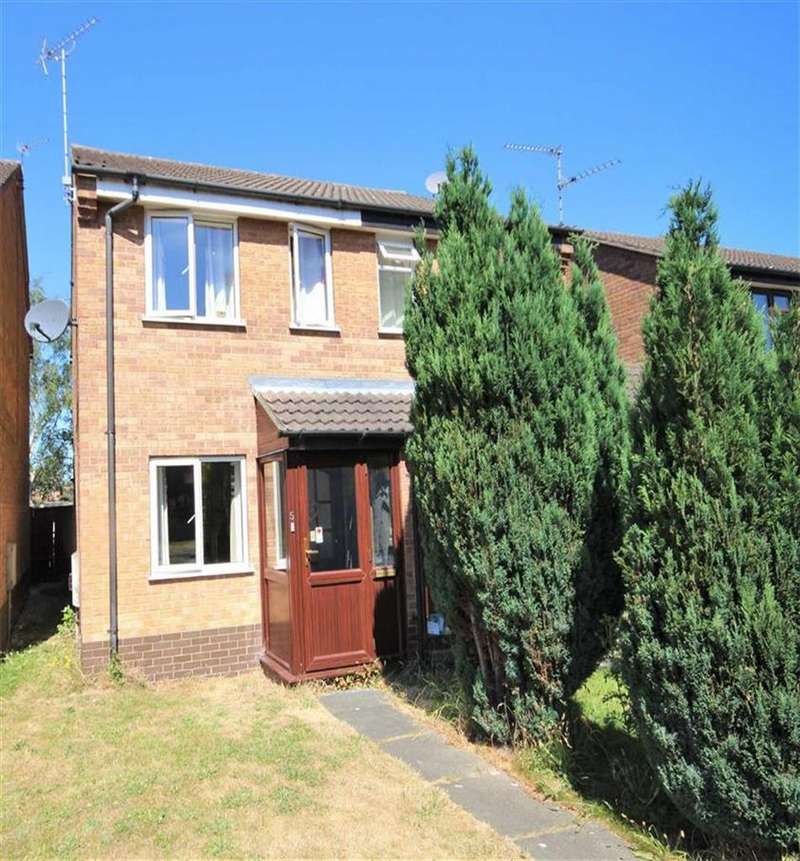 2 Bedrooms Semi Detached House for sale in Kelstern Close, Lincoln, Lincolnshire