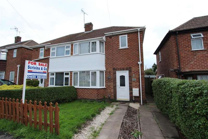 2 Bedrooms Semi Detached House for sale in Edinburgh Road, Leicester