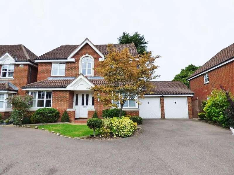 4 Bedrooms Detached House for sale in Emmett Close, Shenley, Radlett
