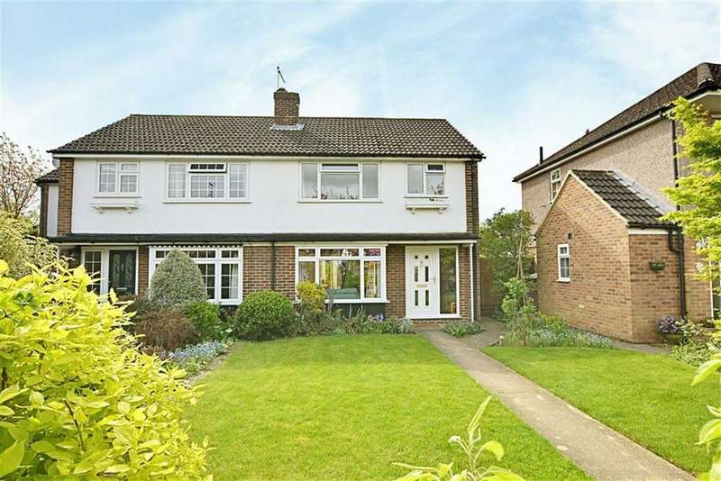 3 Bedrooms Semi Detached House for sale in Woodhall Close, Bengeo, SG14
