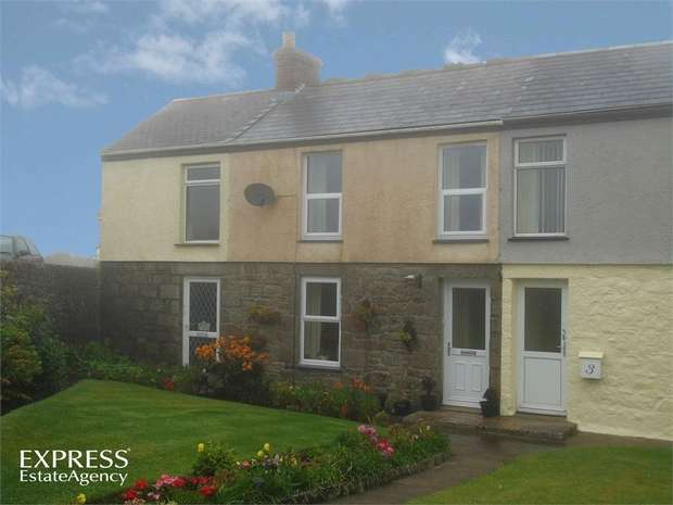 3 Bedrooms Terraced House for sale in Croft Mitchell, Troon, Camborne, Cornwall