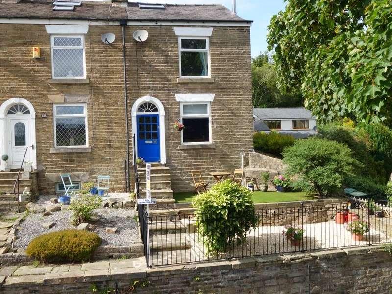 3 Bedrooms End Of Terrace House for sale in Bridge Street, New Mills, High Peak, Derbyshire, SK22 4DJ