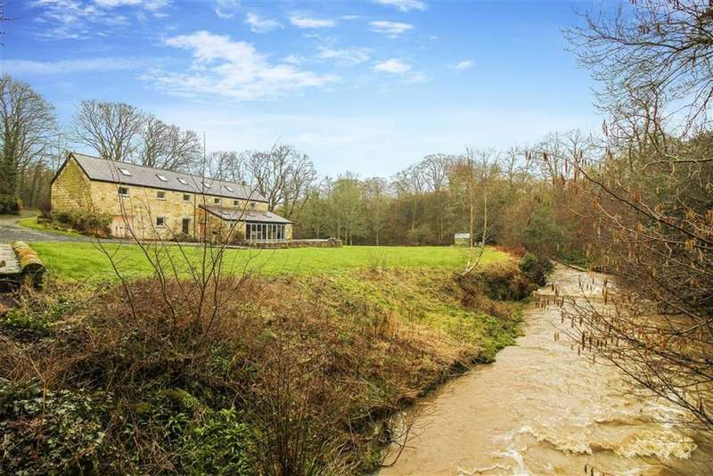 5 Bedrooms Detached House for sale in Brainshaugh, Morpeth, Northumberland
