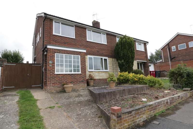 3 Bedrooms Semi Detached House for sale in Elmstone Drive, Tilehurst, Reading