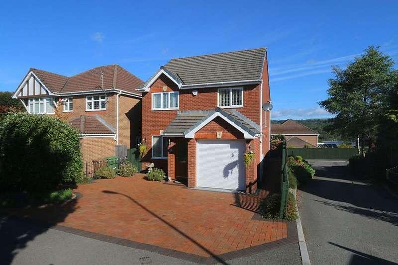 3 Bedrooms Detached House for sale in Tir-Berllan, Oakdale, Blackwood, Caerffili, NP12 0GZ