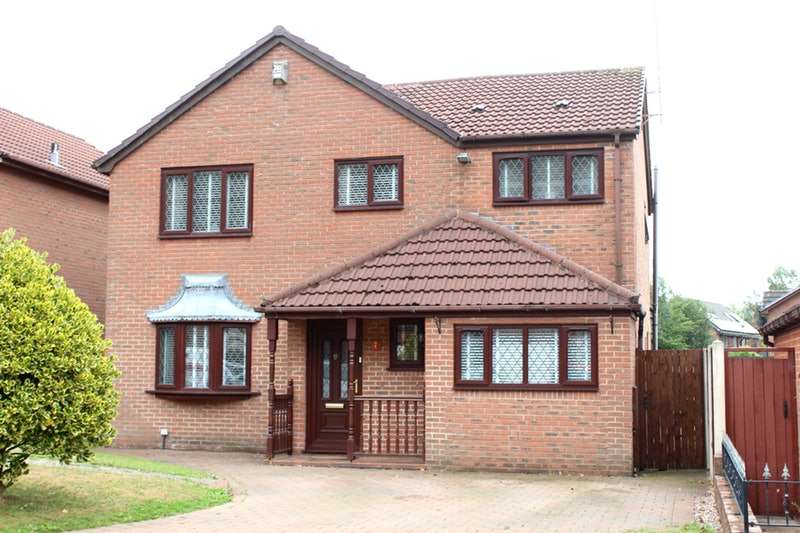 4 Bedrooms Detached House for sale in Briars Green, Skelmersdale, Lancashire, WN8