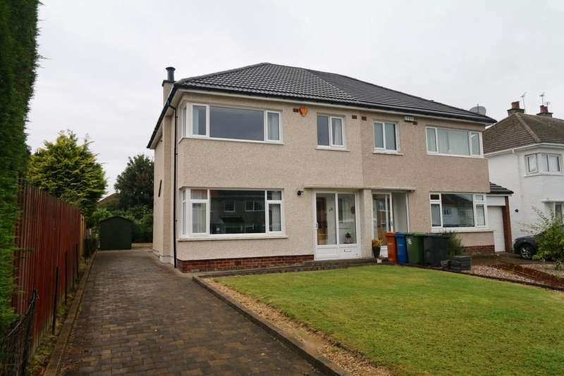 3 Bedrooms Semi Detached House for sale in 18 Friar Avenue, Bishopbriggs, GLASGOW, G64 2HP
