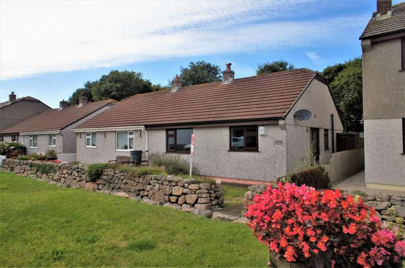 2 Bedrooms Semi Detached Bungalow for sale in The Turnpike, Tregeseal TR19